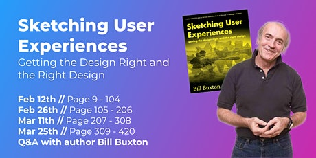Sketching User Experiences (Part 2/4) // CPHUX Book Club tickets