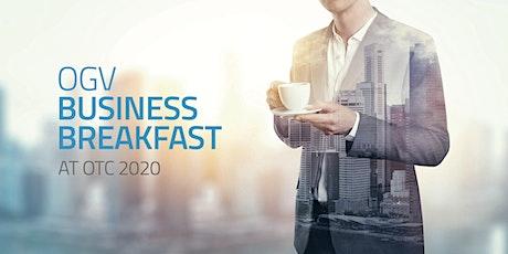 OGV OTC Business Breakfast tickets