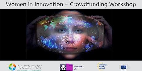 Women in Innovation - Crowdfunding tickets