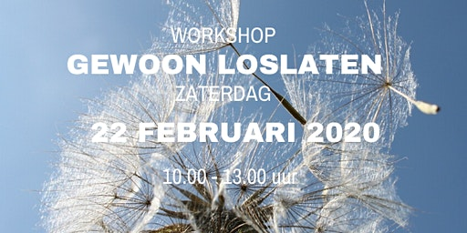 Workshop Gewoon Loslaten 7 november 2020