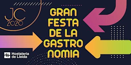 Sopar Gran Festa de la Gastronomia de Lleida 2020 entradas