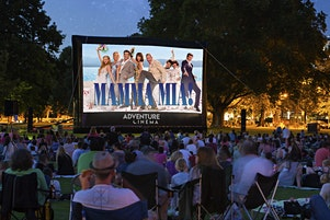 Mamma Mia! ABBA Outdoor Cinema Experience at Gawsworth Hall, Macclesfield