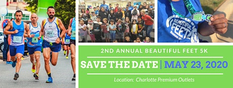 2nd Annual Beautiful Feet 5K tickets
