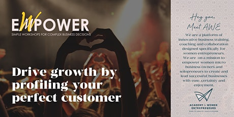 Drive Growth By Profiling Your Perfect Customer tickets