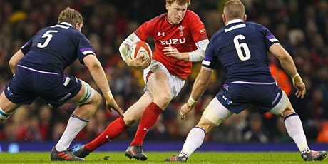 Six Nations Wales v Scotland Rugby Fundraiser tickets