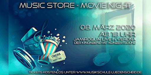 Music Store MOVIENIGHT