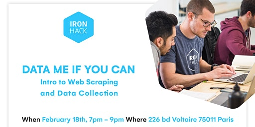 Data me if you can: Intro to Web Scraping and Data Collection