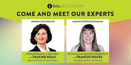 Gill Education: KILKENNY – Pauline Kelly/Frances Rocks presentation tickets