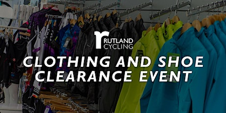 Clothing & Shoe Clearance - Whitwell tickets