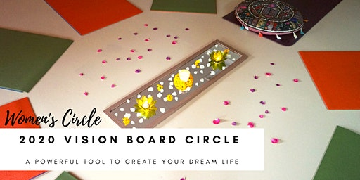 SOLD OUT! Women's Circle Vision Board - A Powerful Tool for Manifestation