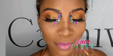 Bling Babe Makeup for Miami Carnival 2020 tickets