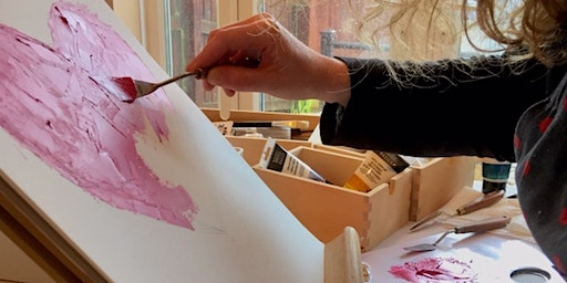 Introduction to palette knife painting with Gina Belford
