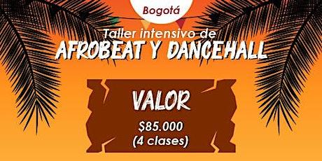 Taller intensivo de Afrobeat y Dancehall tickets