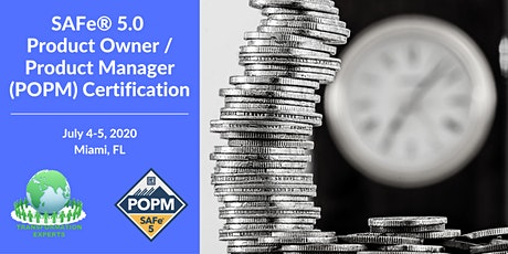 SAFe® 5.0 Product Owner / Product Manager (POPM) Certification   Miami / Ft. Lauderdale  tickets