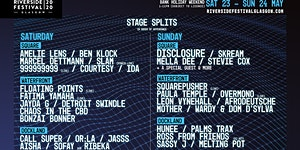 Riverside Festival 2020 Payment Plan