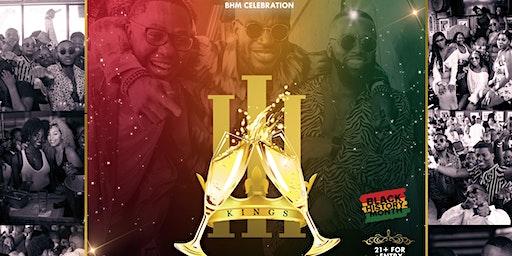 3Kings Brunch & Day Party: Black History Month Celebration