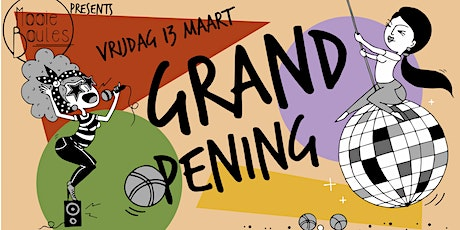 Mooie Boules Grand Opening tickets