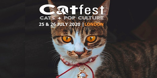 CATFEST | cats + pop culture | UK's 1st cat festival | catfestlondon.com