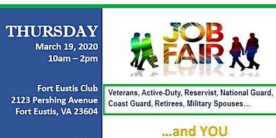 Job Fair - Fort Eustis -  March 19 2020