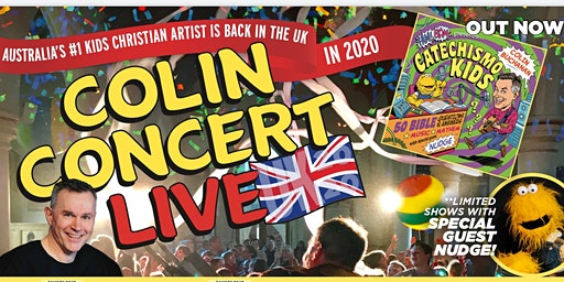 Colin Buchanan's Kids Show LIVE in Concert at Holy Cross Church Felsted