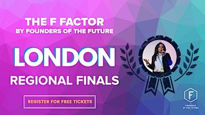 The F Factor: London Regional Final 2020 tickets