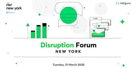 Disruption Forum New York tickets
