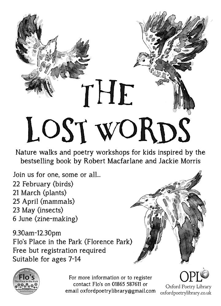 The Lost Words workshops image