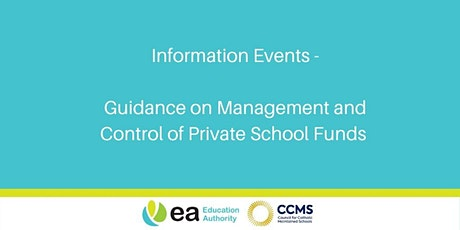 Guidance on Management & Control of Private School Funds - Omagh TEC tickets