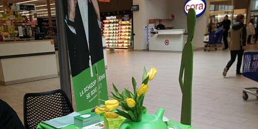 Stand au centre commercial Shop'in Publier