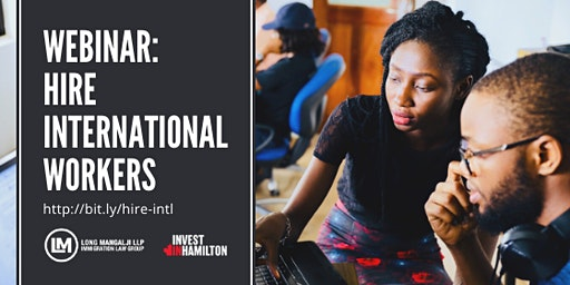 Webinar: What you need to know about hiring international workers