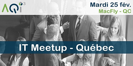 IT Meetup à Québec billets