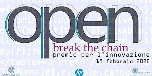 open - break the chain - premio per l'innovazione