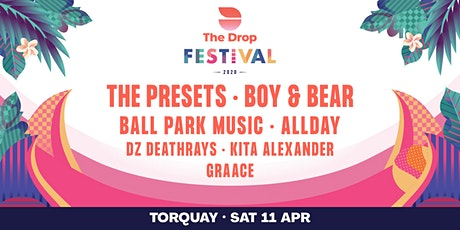 The Drop Festival 2020  Torquay tickets