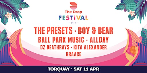 The Drop Festival 2020  Torquay