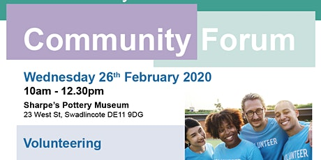 South Derbyshire Community Forum - Volunteering tickets