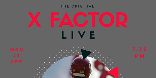 The Original X Factor Live - An Audience With Dante Hall