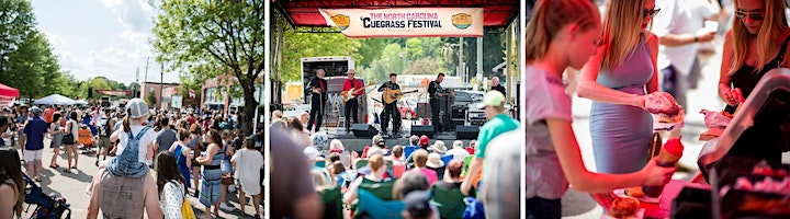The North Carolina 12th Annual 'Cuegrass Festival Beer Garden image