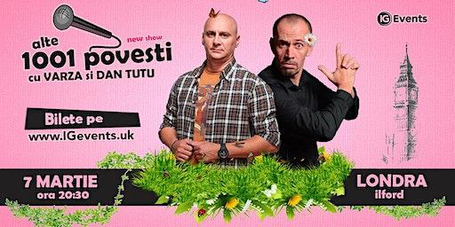 Stand Up Comedy Londra cu Varza si Dan Tutu 7 Martie