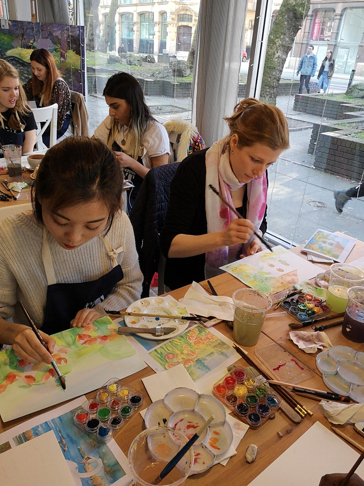 Watercolour Painting Workshop image