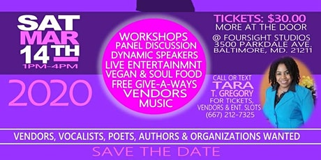 Sistah Empowerment Series...'RECLAIM Your Power' Event tickets