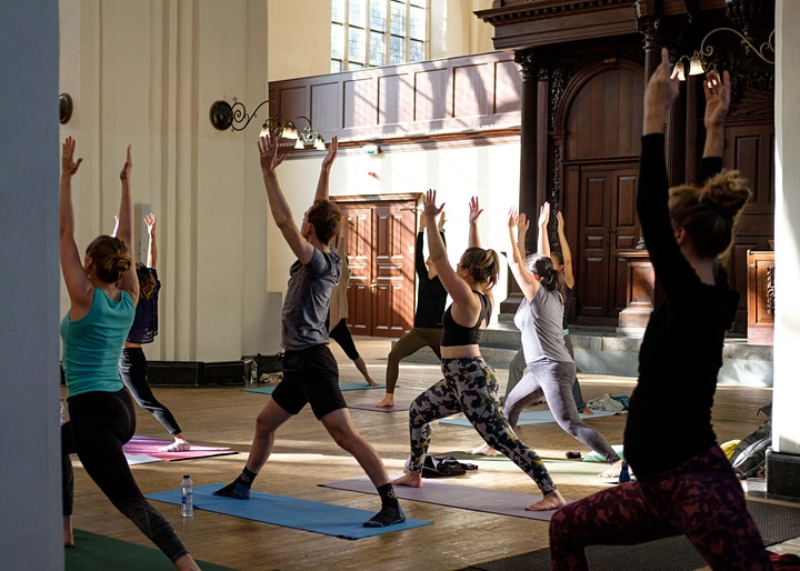 Yoga in the A-Kerk image