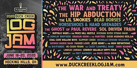 Duck Creek Log Jam 2020 tickets