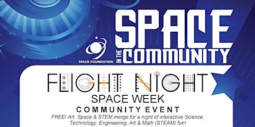 Flight Night Space Week Community Night - 2020