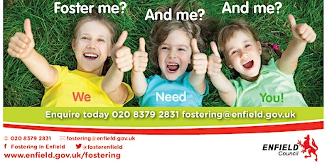 Enfield Council's Fostering Information Event for Foster Care Fortnight tickets