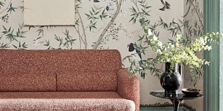 How to bring the outdoors in using colour & wallpaper - Chelsea Showroom tickets