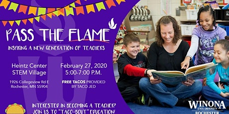 Pass the Flame- Education Open House tickets