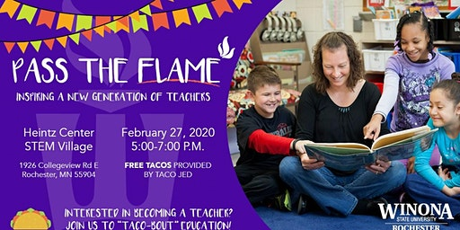 Pass the Flame- Education Open House