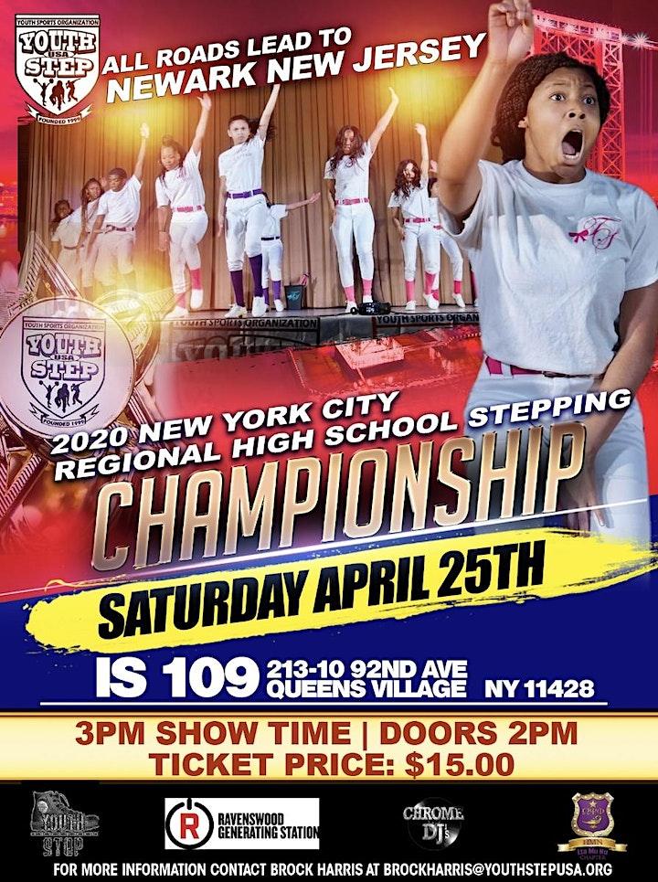 2020 New York City Regional High School Stepping Championship image