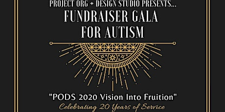 PODS 20th Anniversary: Fundraiser Gala for Autism tickets