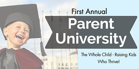 Parent University tickets